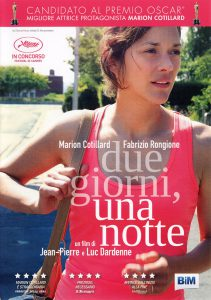 "Poster for the movie ""Due giorni, una notte"""