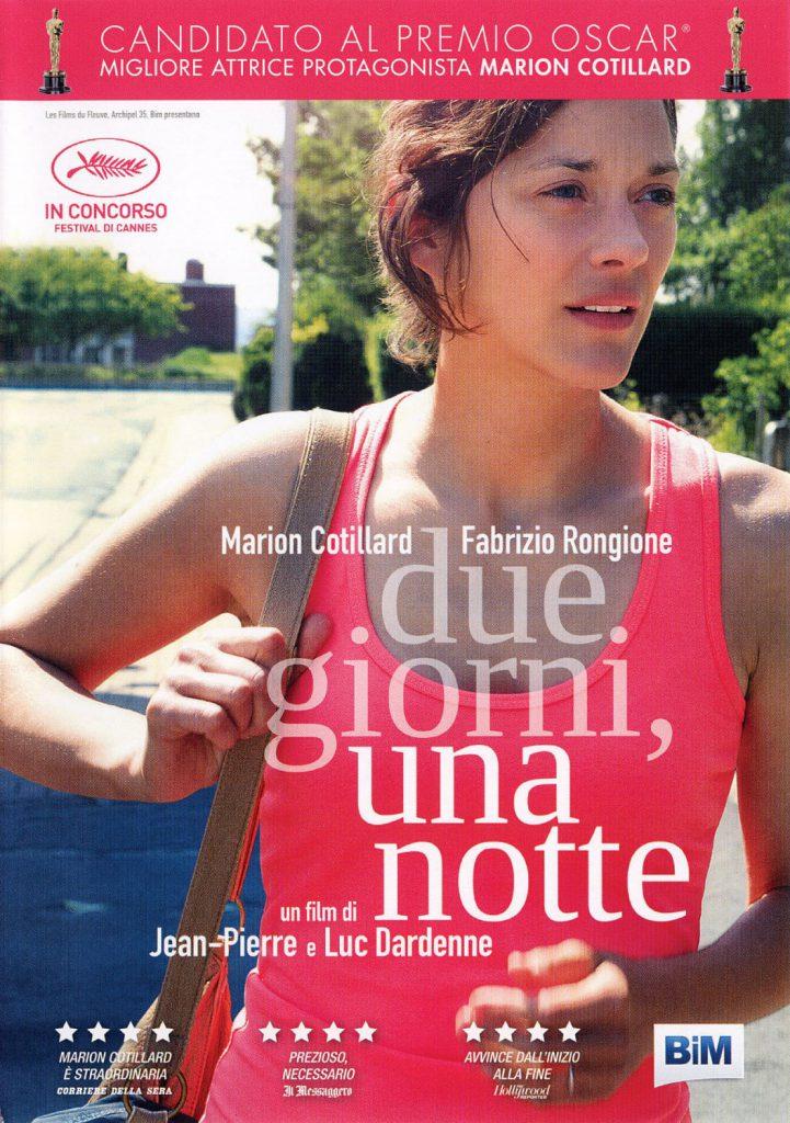 """Poster for the movie """"Due giorni, una notte"""""""