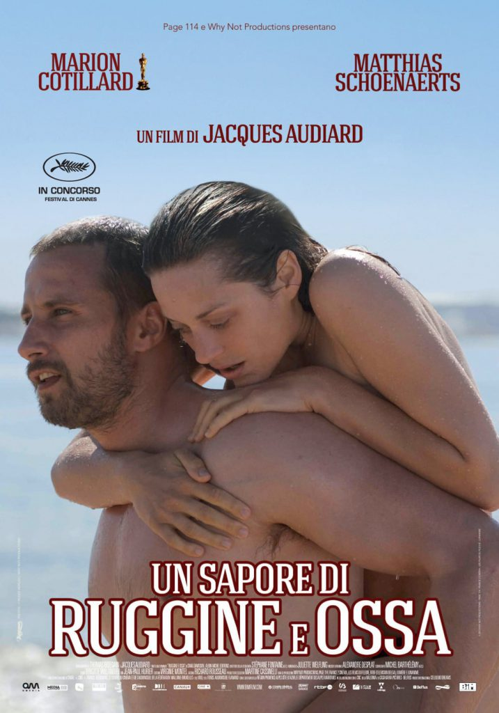 """Poster for the movie """"Un sapore di ruggine e ossa"""""""