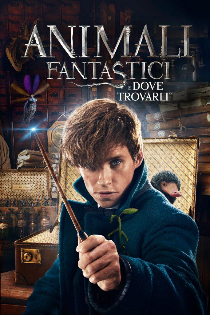 """Poster for the movie """"Animali fantastici e dove trovarli"""""""