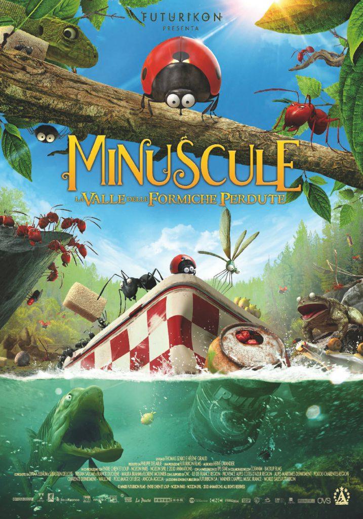 "Poster for the movie ""Minuscule – La valle delle formiche perdute"""