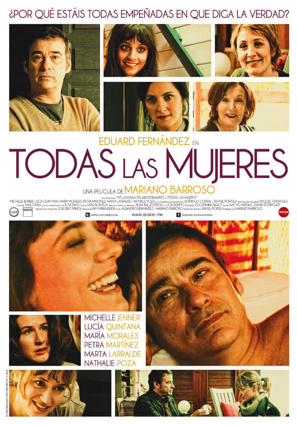 "Poster for the movie ""Todas las mujeres"""