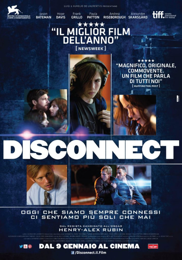 "Poster for the movie ""Disconnect"""