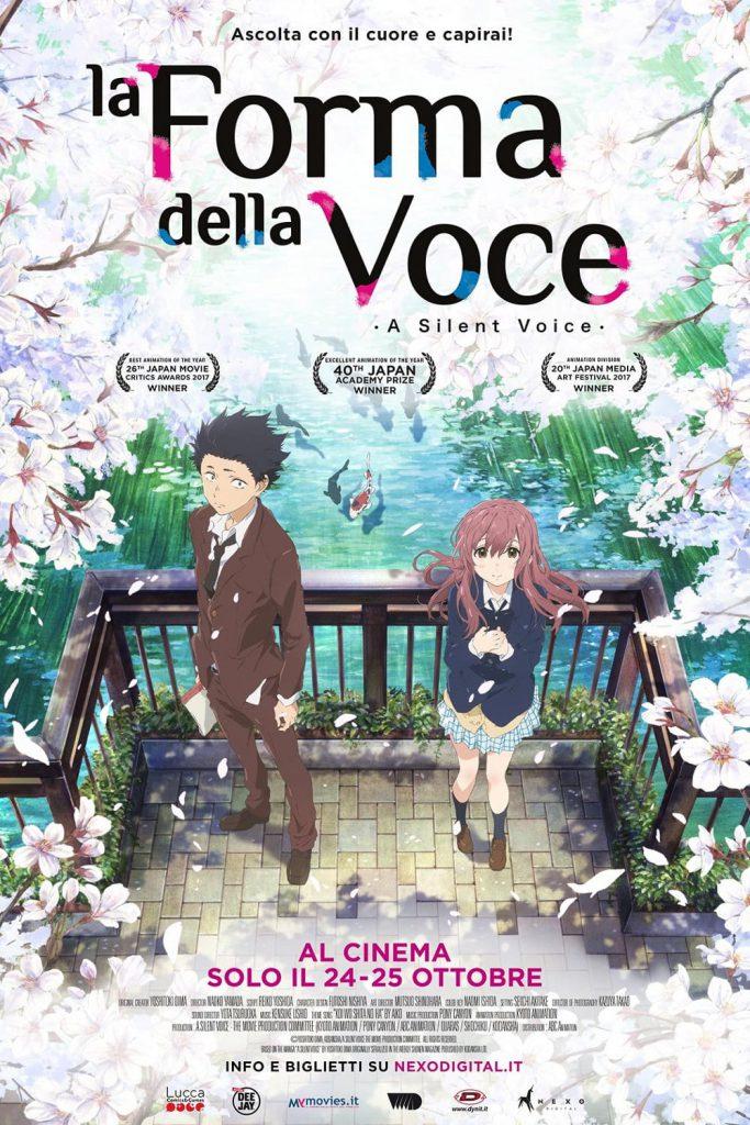 """Poster for the movie """"La forma della voce"""""""