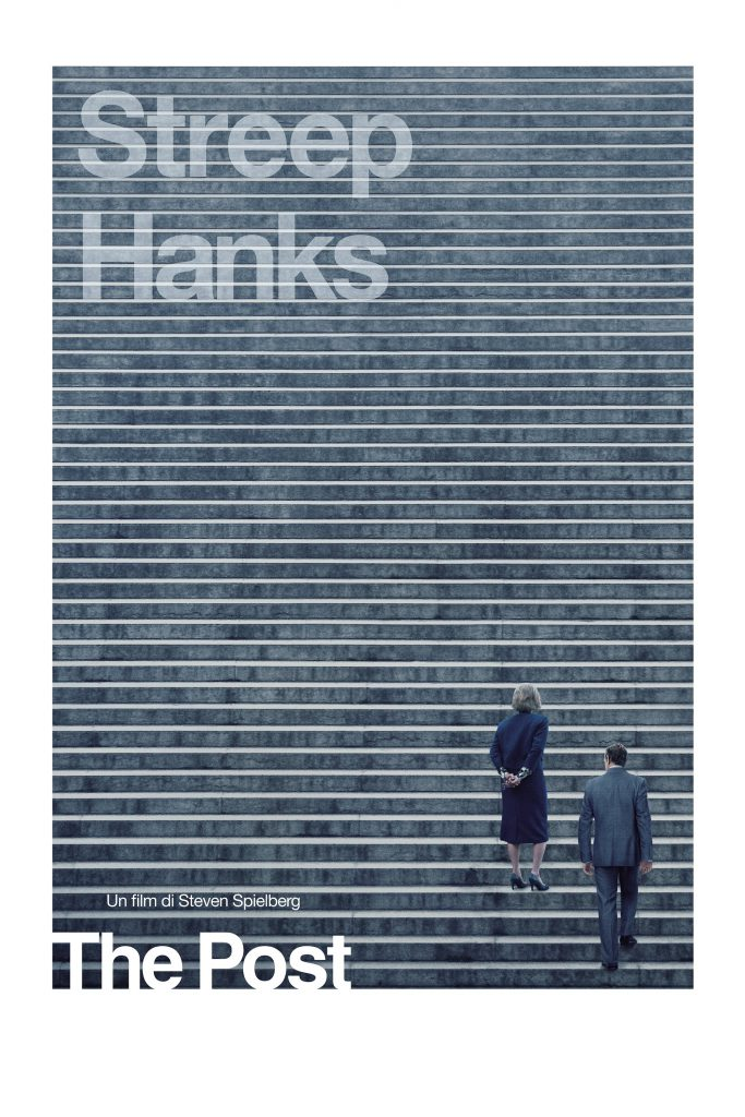 "Poster for the movie ""The Post"""