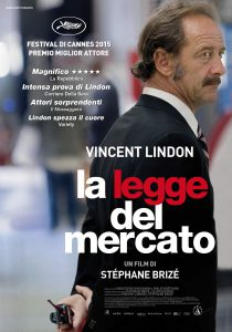 "Poster for the movie ""La legge del mercato"""