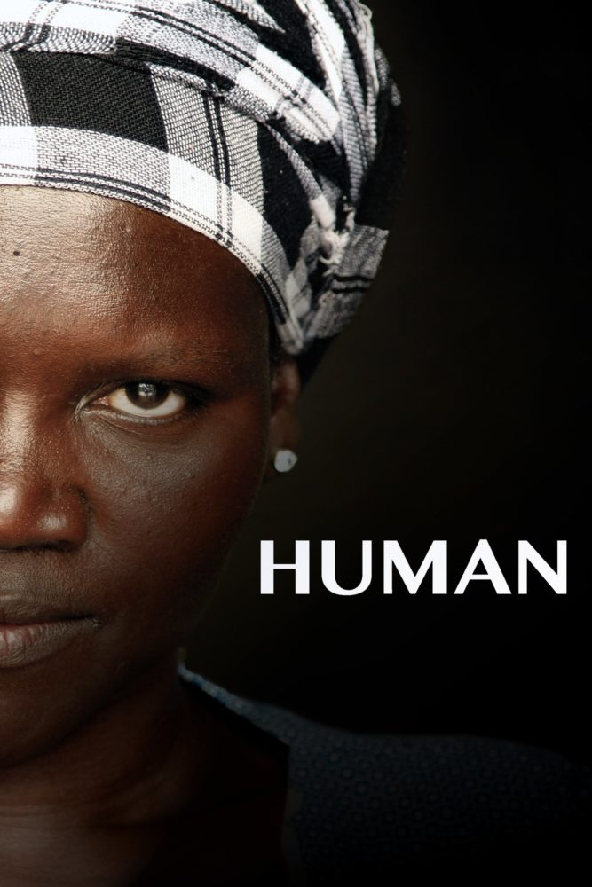 "Poster for the movie ""Human"""