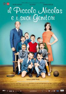 "Poster for the movie ""Il piccolo Nicolas e i suoi genitori"""
