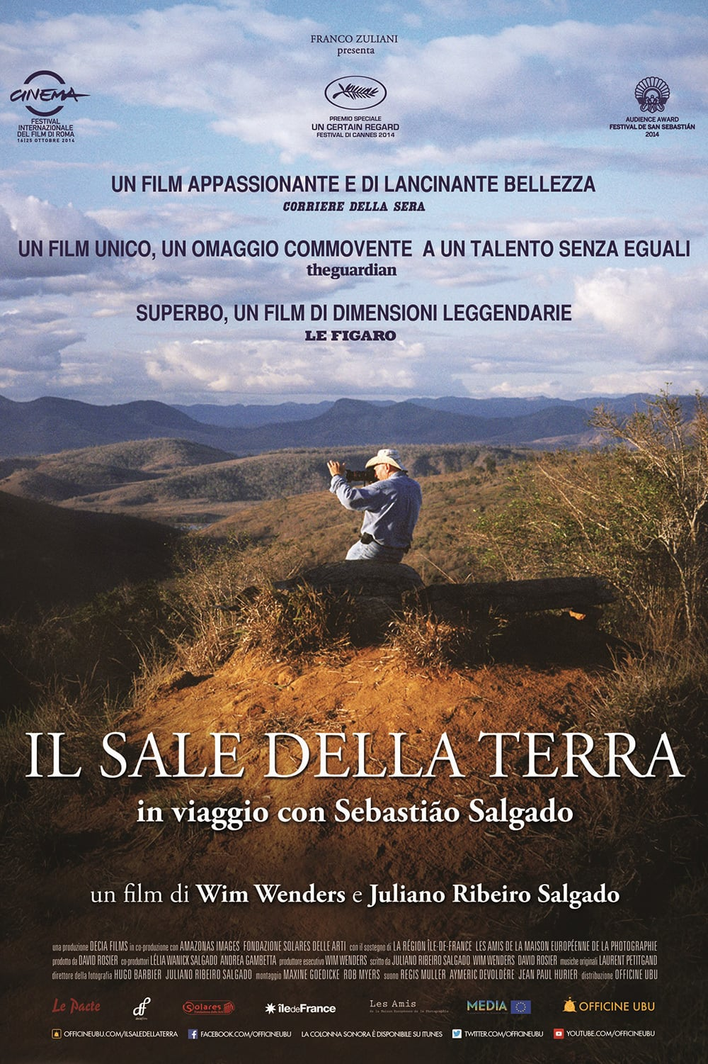 "Poster for the movie ""Il sale della terra"""