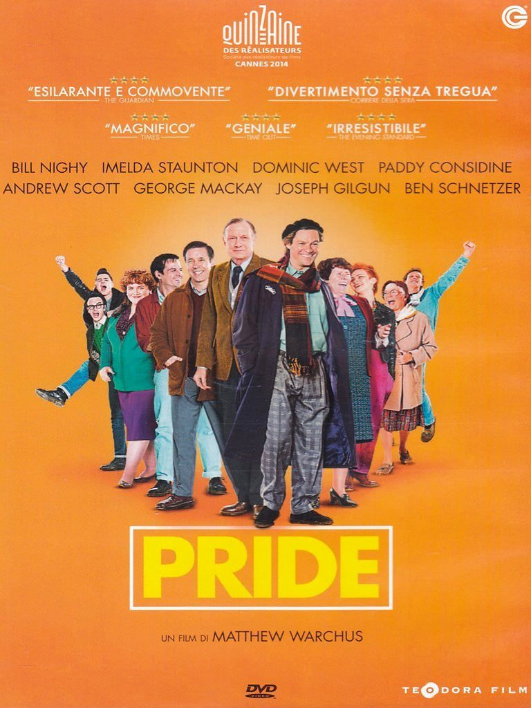 "Poster for the movie ""Pride"""
