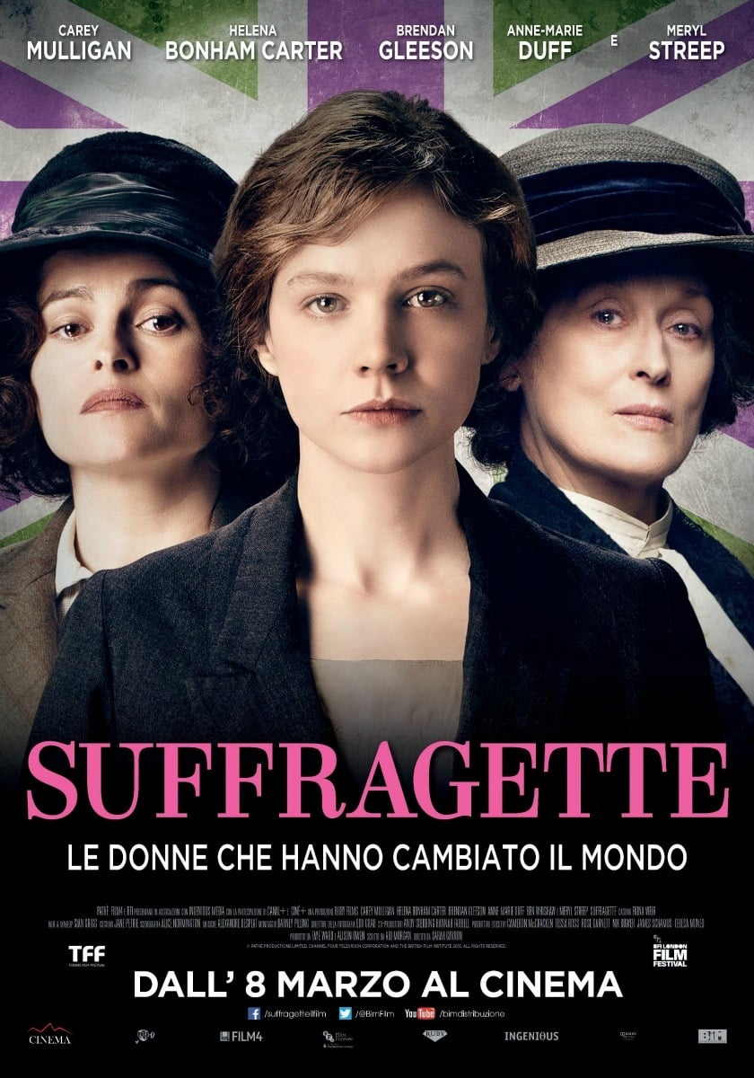 """Poster for the movie """"Suffragette"""""""