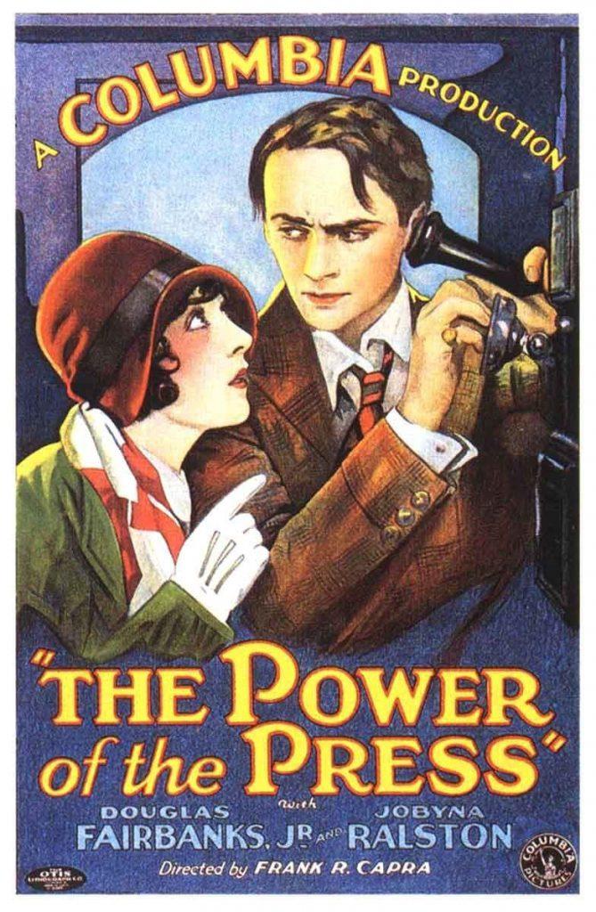 """Poster for the movie """"Il potere della stampa"""""""