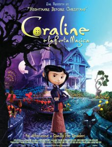 "Poster for the movie ""Coraline e la porta magica"""