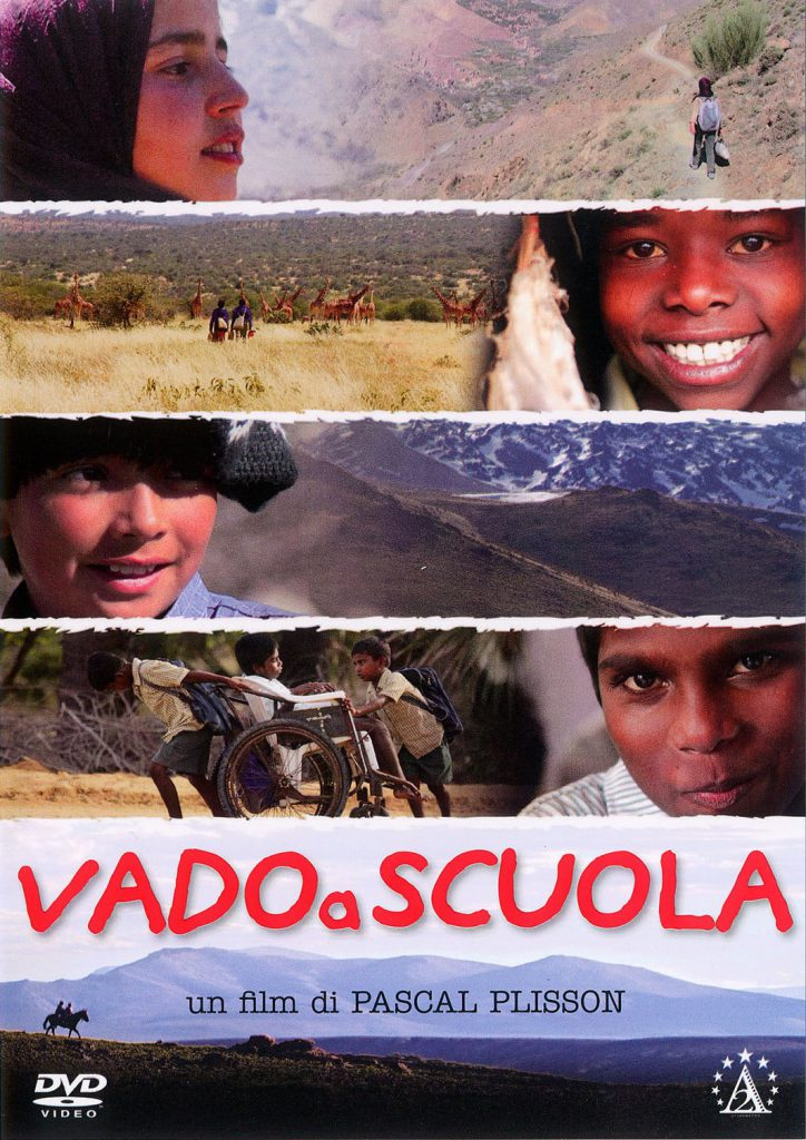 "Poster for the movie ""Vado a scuola"""