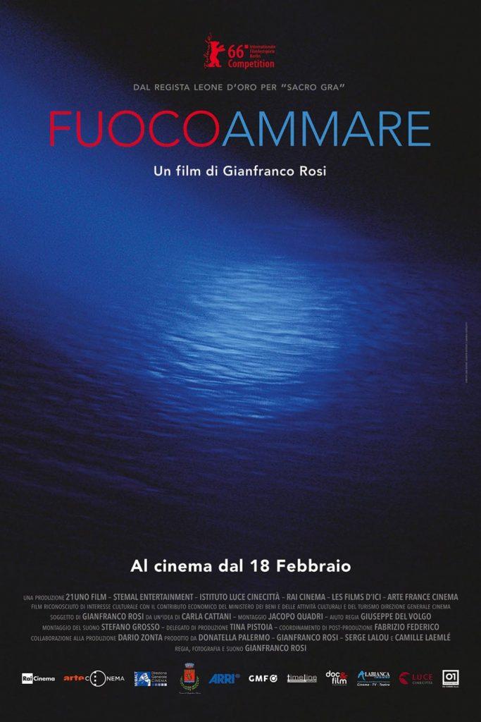 """Poster for the movie """"Fuocoammare"""""""