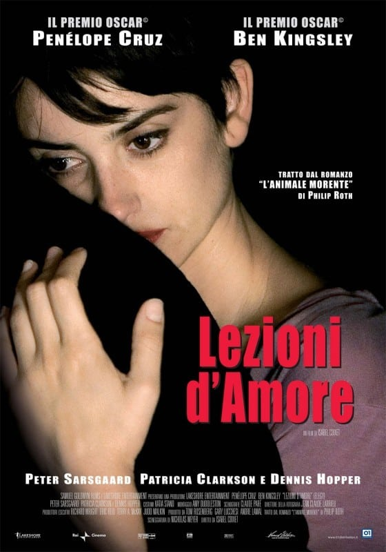 "Poster for the movie ""Lezioni d'amore"""