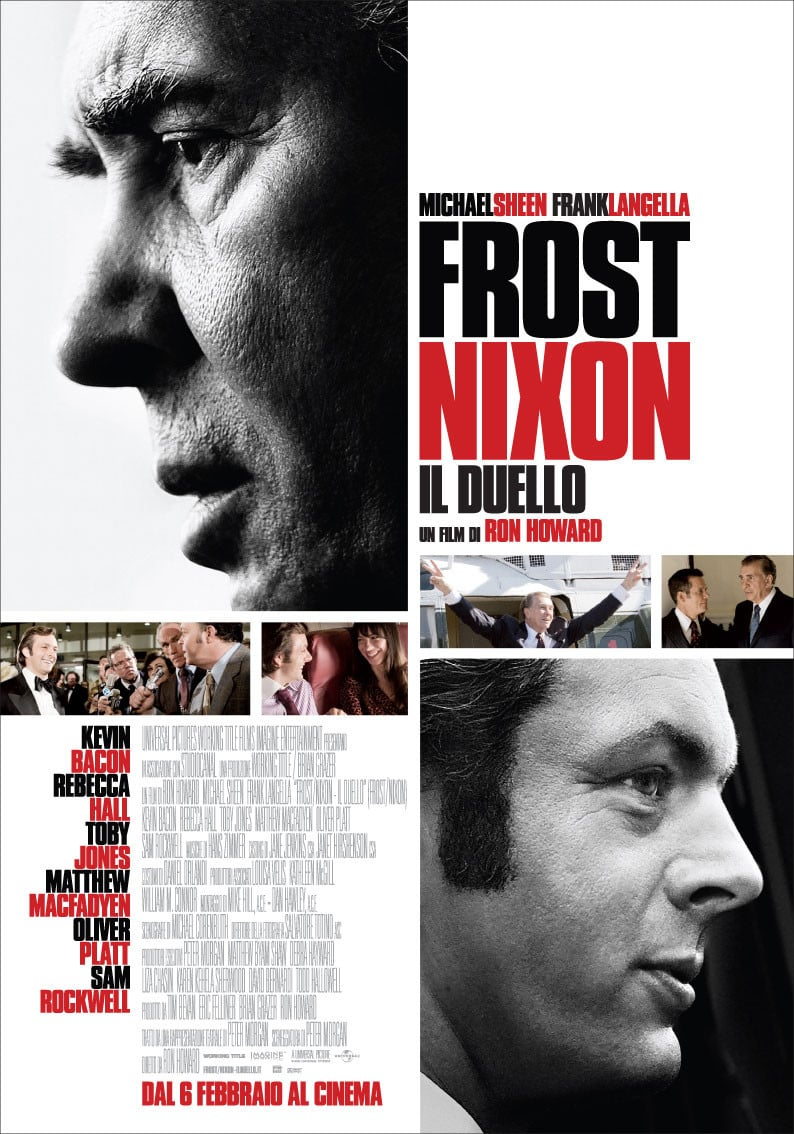 "Poster for the movie ""Frost/Nixon - Il duello"""
