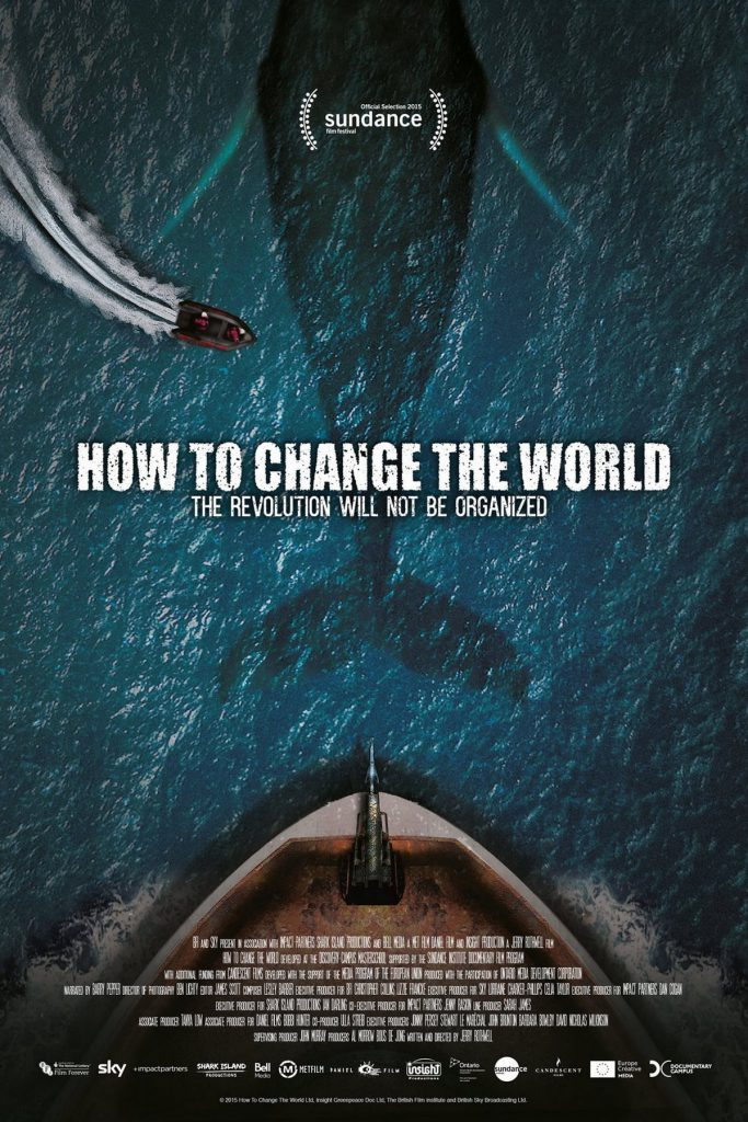 "Poster for the movie ""How to Change the World"""