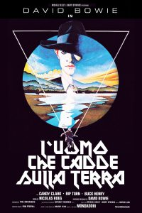 "Poster for the movie ""L'uomo che cadde sulla Terra"""