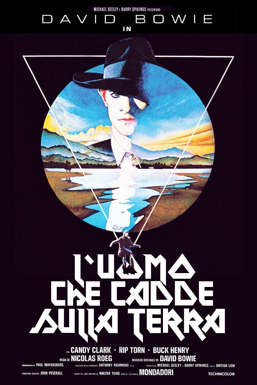 """Poster for the movie """"L'uomo che cadde sulla Terra"""""""