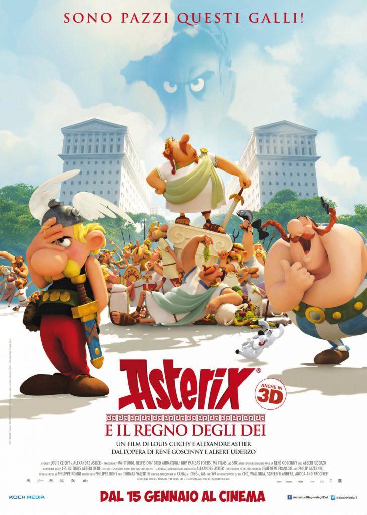 """Poster for the movie """"Asterix e il Regno degli dei"""""""