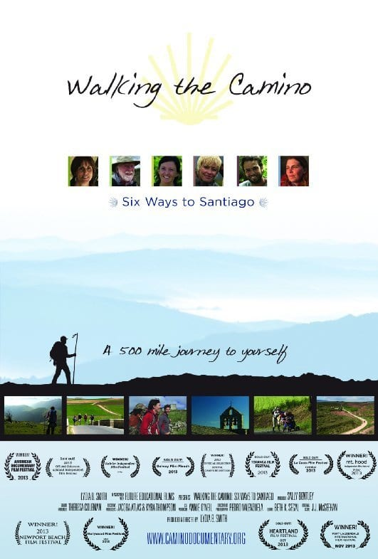 "Poster for the movie ""Sei vie per Santiago"""