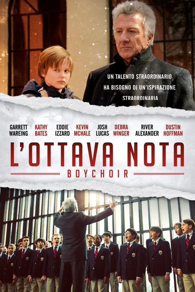 "Poster for the movie ""L'ottava nota – Boychoir"""