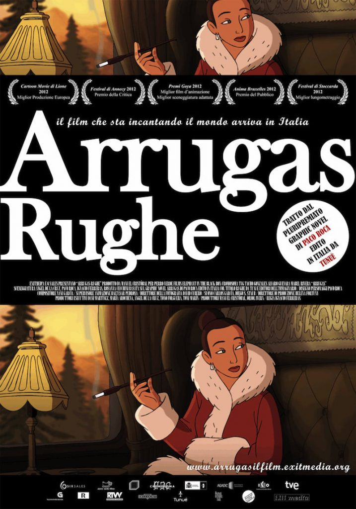 "Poster for the movie ""Rughe"""