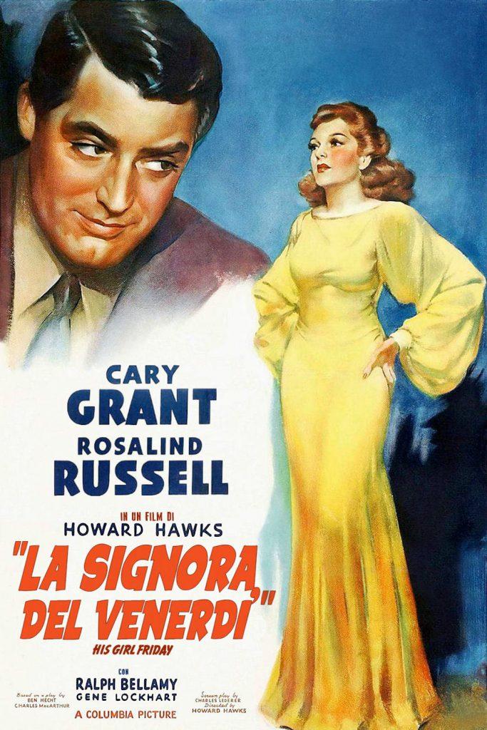 """Poster for the movie """"La signora del venerdì"""""""