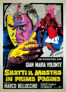 "Poster for the movie ""Sbatti il mostro in prima pagina"""