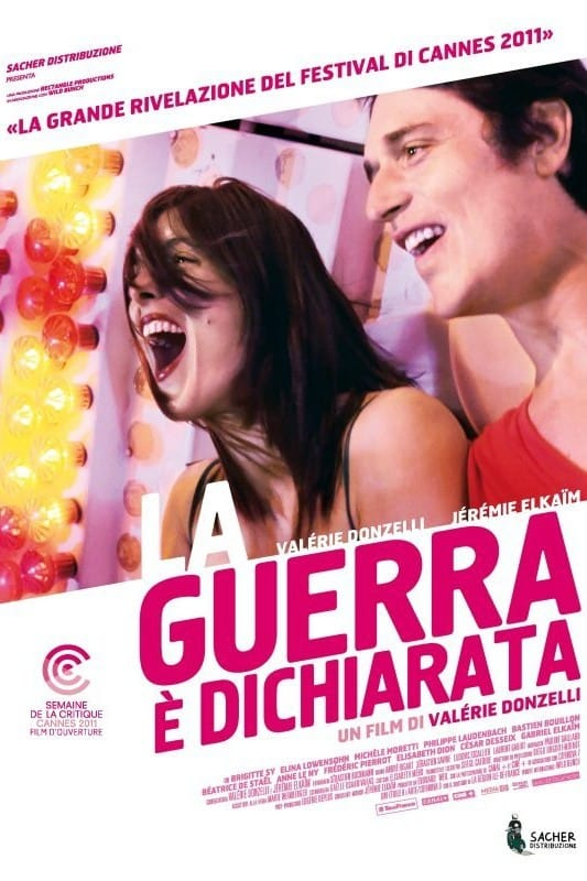 """Poster for the movie """"La guerra è dichiarata"""""""