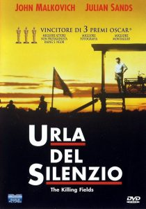 "Poster for the movie ""Urla del silenzio"""