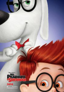 "Poster for the movie ""Mr. Peabody e Sherman"""