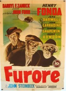 "Poster for the movie ""Furore"""