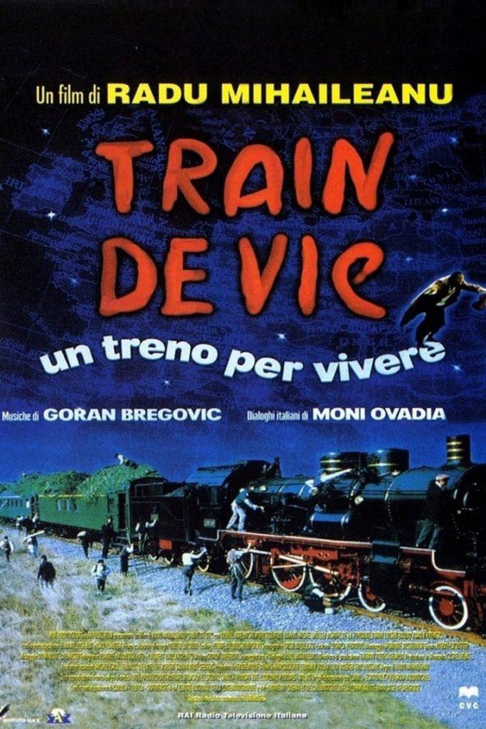 """Poster for the movie """"Train de vie – Un treno per vivere"""""""