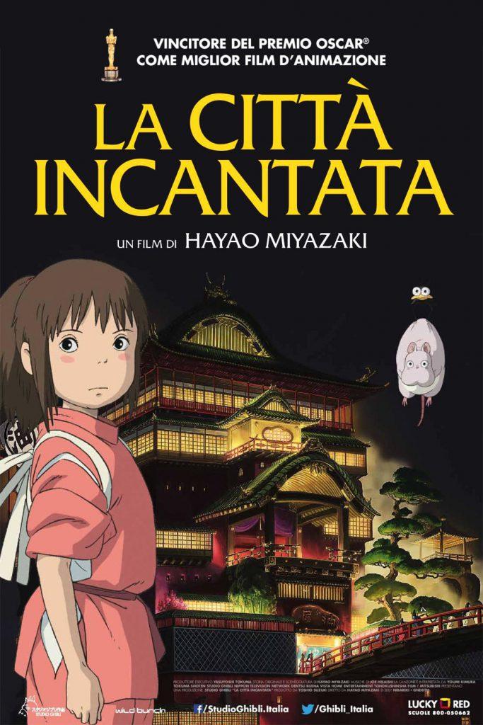 """Poster for the movie """"La città incantata"""""""