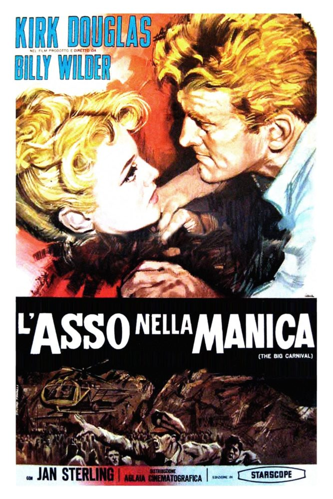 "Poster for the movie ""L'asso nella manica"""
