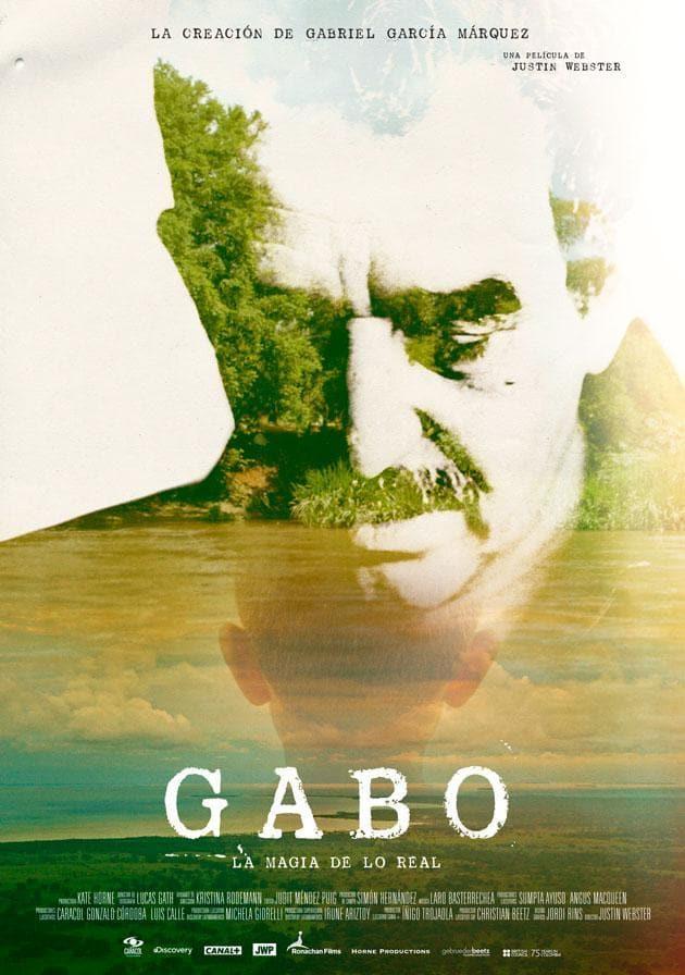 """Poster for the movie """"Gabo – Il mondo di García Márquez"""""""