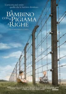 "Poster for the movie ""Il bambino con il pigiama a righe"""