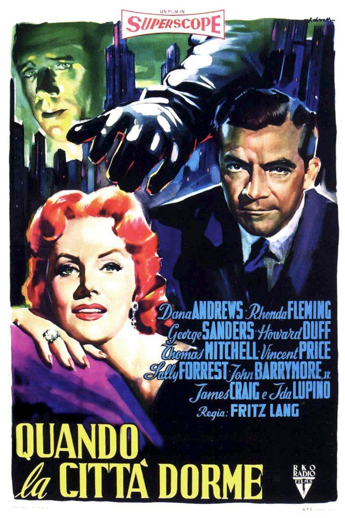 """Poster for the movie """"Quando la città dorme"""""""