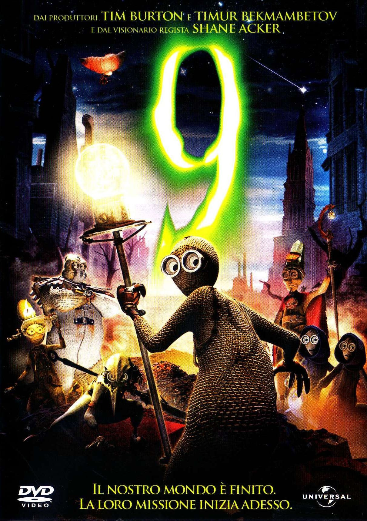 "Poster for the movie ""9"""