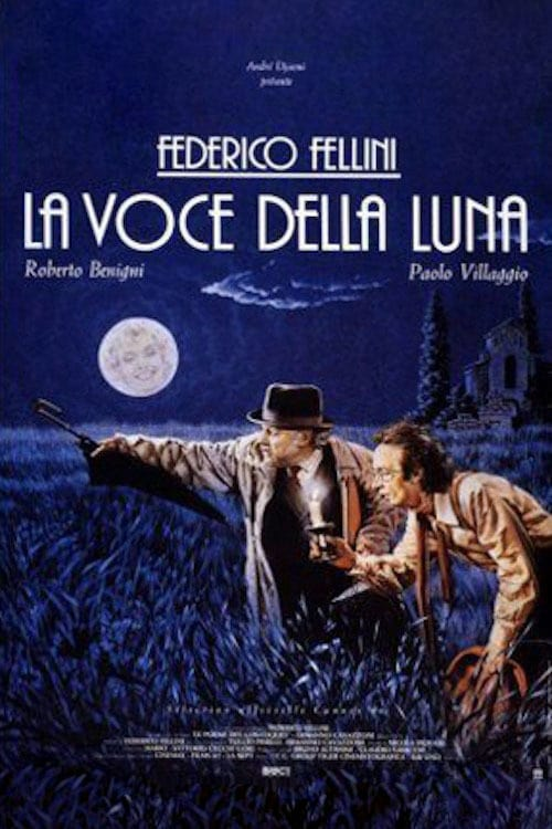 """Poster for the movie """"La voce della luna"""""""