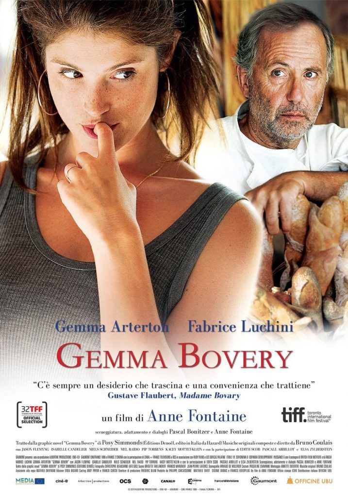 "Poster for the movie ""Gemma Bovery"""