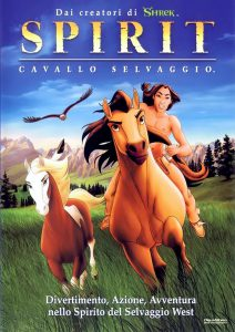"Poster for the movie ""Spirit - Cavallo selvaggio"""