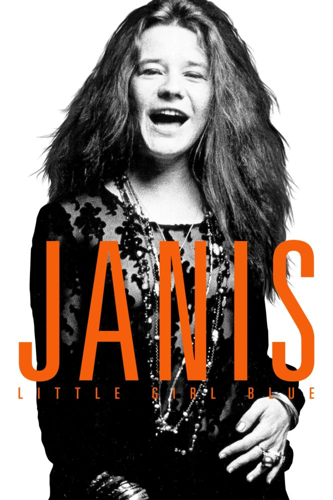 "Poster for the movie ""Janis"""