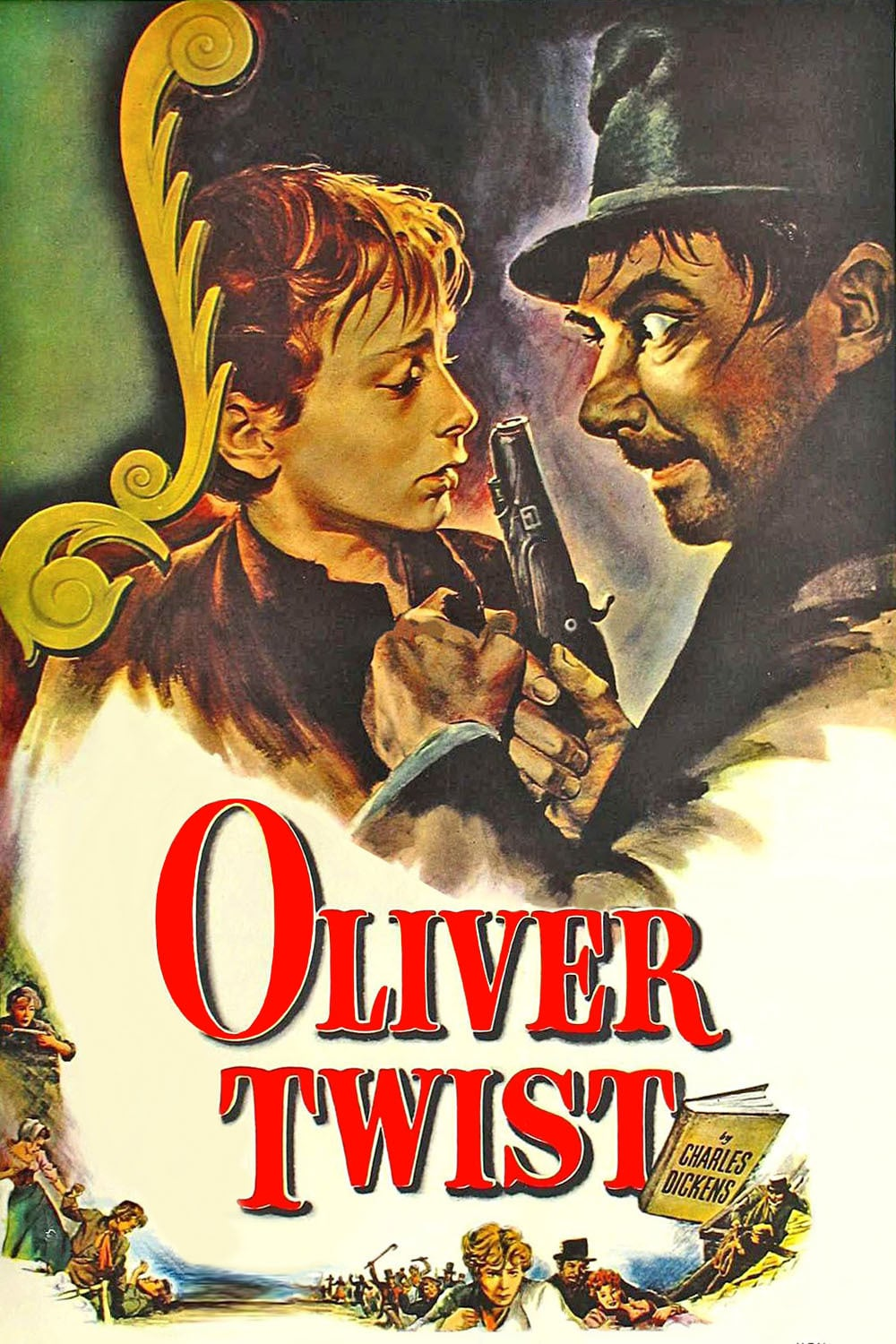 "Poster for the movie ""Le avventure di Oliver Twist"""