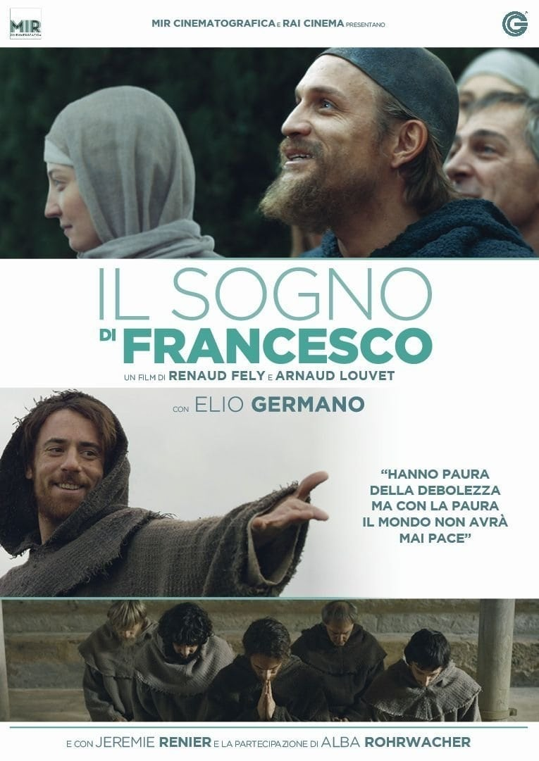 "Poster for the movie ""Il sogno di Francesco"""