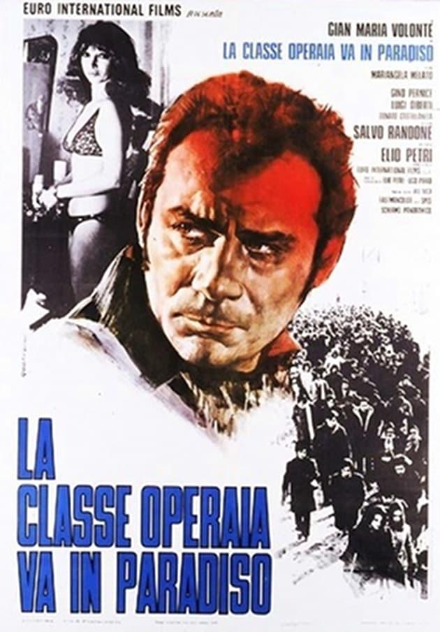 """Poster for the movie """"La classe operaia va in paradiso"""""""