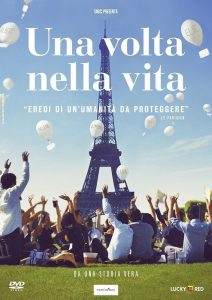 "Poster for the movie ""Una volta nella vita"""