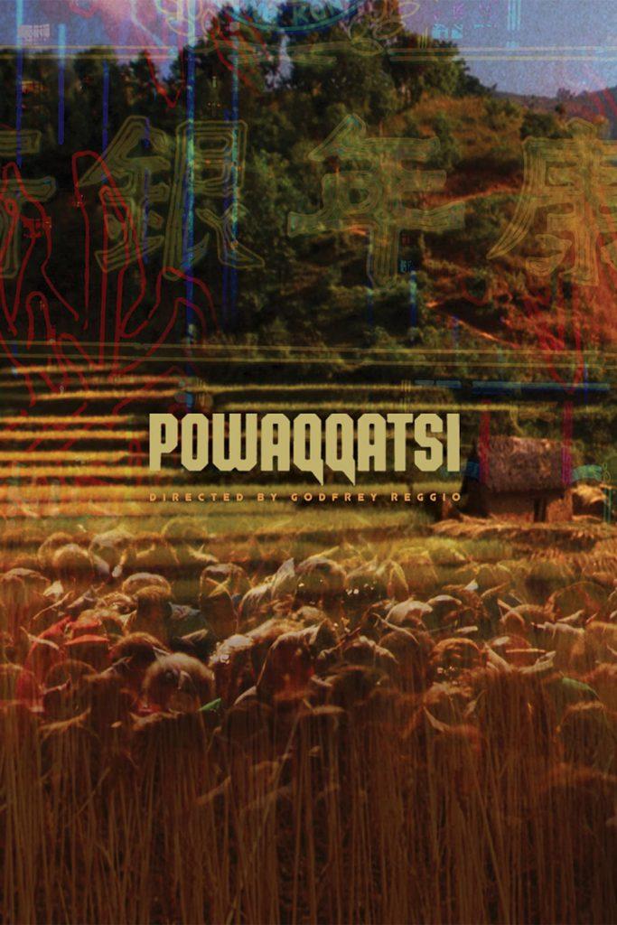 """Poster for the movie """"Powaqqatsi"""""""